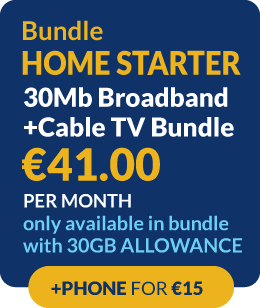 bundle homestarter - broadband and cable tv